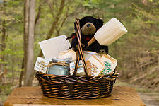 Product Photography: Gift Basket 1
