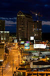 Buckhead Street at Night