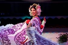 Panamanian Typical Dance Performance at La Concepción, Panama