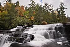 Triple Falls Waterfall - Brevard North Carolina